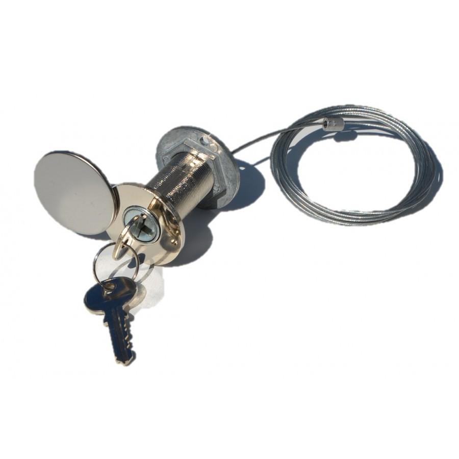 Kit d verrouillage ext rieur accessoire porte de garage - Accessoire porte de garage ...