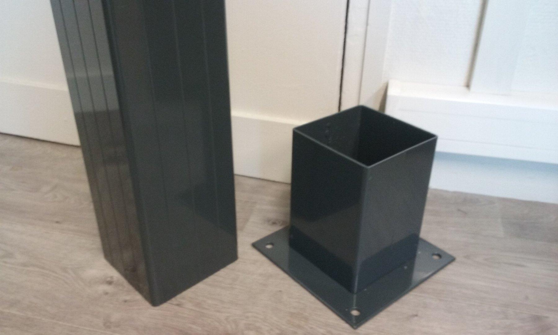 Poteau Aluminium 15x15