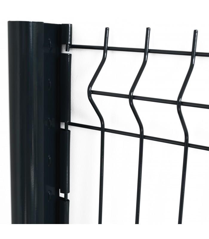 poteau de grillage gamme professionnelle. Black Bedroom Furniture Sets. Home Design Ideas